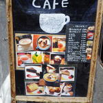 グッドニュースカフェ - 外看板メニュー