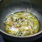 abysse - トリ貝   煎茶 じゅんさい