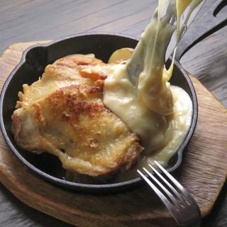ラクレットチーズでとろ~り体験★旬野菜をたっぷり一皿に♪
