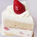 メリメロ - 料理写真:苺のショートケーキ