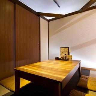 完全個室にできる座敷