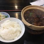 蘭蘭 - 牛スジ煮込み定食