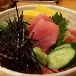 寿司 海老原 - ネギトロ丼(2019.5)