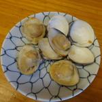 マイアミ貝新 - 料理写真:焼き蛤