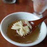 チャウ バウ - スープ付き。