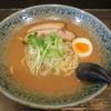自己流ラーメン綿麺 - 料理写真:和風とんこつ