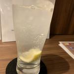 ふるはうす - 絞りレモンサワー