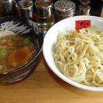 ラーメン剣信 - 醤油つけ麺 中盛 788円