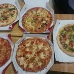 ドミノ・ピザ - 料理写真:一部
