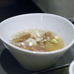 焼肉チャンピオン - 牛スジ塩煮こみ