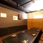 風見鶏 - 4名~20名様まで個室空間でご案内。人数に合わせて、お席をご用意可能です。