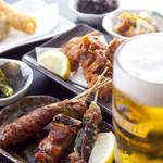 風見鶏 - ビールやハイボール、お酒に合う料理があります。
