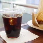 自由が丘バーガー - アイスコーヒー