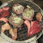 七輪焼肉 安安 - 網一杯の肉(2019.5.5)