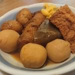 松崎屋谷四店 - おでん盛り合わせ(^^)/