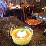 DADA CAFE - かぼちゃのプリン