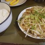 109851244 - ライスと野菜炒め