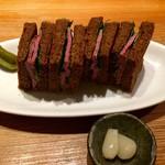 109852199 - 馬叉焼のトーストサンド ハーフ