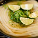 うどん 丸香 - 料理写真:冷かけ
