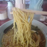 ラーメンショップ - 中太麺はもちもち食感。