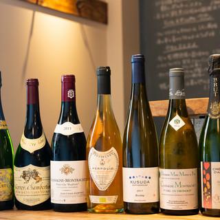 太田シェフ自らソムリエ有資格者。だからワインは外せない