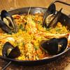 テルヌーラ - 料理写真:ムール貝とスカンピのパエリア