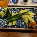 純米酒料理屋しぇんろん - 味噌キュウリ