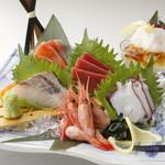 つぼ八 - 料理写真:海鮮6品盛り