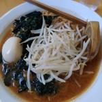麺屋 悠信 - 『辛味噌らぁめん』と『味玉』