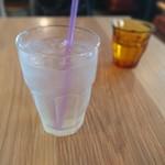 トーキョー ローカルベース - ランチドリンク(レモネードアイス)+150円