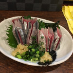 ふなっ子 - 料理写真:いわし刺し