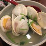 ふなっ子 - ホンビノス貝の酒蒸し