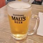 出屋敷酒場 和田家 - 《生ビール》