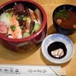 桔梗寿司 - ちらしランチ