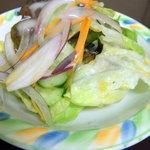とんかつ叶 - セットサラダ
