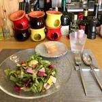 109870777 - パスタランチ1,000円、鎌倉野菜のサラダ