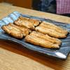 Kabuto - 料理写真:岡山県吉井川の天然鰻の白焼