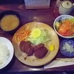 とんかつ ブウ亭 - ミニヒレカツ定食 1,430円