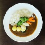 ドウジマカフェ - 野菜たっぷりカレー