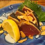 房 - カツオの塩タタキ