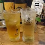 房 - ハイボール&ジャスミン茶