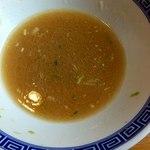 麵屋春馬 - 割りスープ