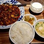109897106 - 陳麻婆豆腐♪(ランチセット A)