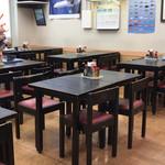 空港食堂 - 朝は空いていました