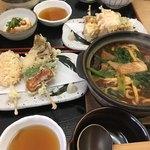 定吉 - 料理写真:私は串天付き味噌煮込み1050円