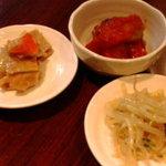 韓国家庭の味 いなか家 - 前菜
