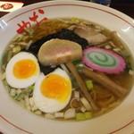 おにやんま - 鶏清湯焼きしじみ塩ラーメン 【 2011年12月 】
