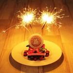 一年に一度のお祝いをする誕生日に。バースデーケーキ