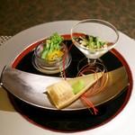 樹林 - 料理写真:前菜