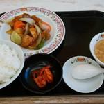109902713 - 中華定食(酢豚)899円